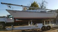 C & C 25' Sailboat In Toronto With Mast Hoist Equipped Trailer
