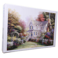 1000 Pieces Puzzle Game Scenic Villa Wooden Assembling Puzzles for Adu A8A