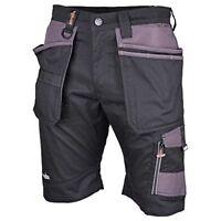 Scruffs Mens Trade Shorts - Black, 30-Inch