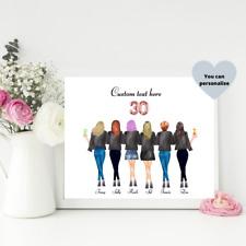 30th Birthday Gift / Personalised Print / Birthday Gift Idea / Custom Gift