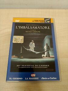 DVD L'IMBALSAMATORE MATTEO GARRONE CANNES (MIS)