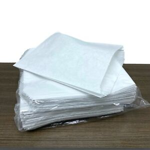 Made in USA Waxed Paper Cookies Pretzel Sandwich White Bags Grease Resistant