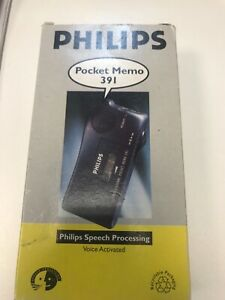 Philips Professional Pocket Memo LFH 391 - Philips speech processing