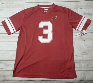 Arizona Cardinals NFL Josh Rosen #3 Red Lightweight Jersey Shirt Size L 2018