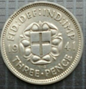 George VI Silver Threepence 3d 1937 To 1941 Choose Your Year