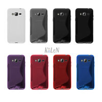 For Samsung Galaxy J1 J2 J3 J5 J7 (2016) S-Line TPU Silicone Case Skin Cover