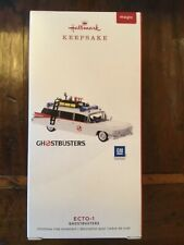 Hallmark 2019 Ghostbusters ECTO-1 Ornament Light & Sound 35th anniv Egon Slimer
