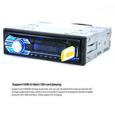 Auto Car Stereo 1DIN Autoradio CD DVD Musik-Player MP5 AUX USB SD FM In-Dash