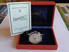 EBERHARD-PRE EXTRA-FORT-CAL.16000-ACCIAIO-VALJOUX 70-BOX,GARANZIA,FIBBIA-40,3MM