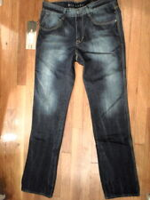 NWT Cain Able of L.A. Drk Wash Denim Lean Tapered Jeans Size 31 x 34  (S-M-1135)