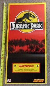 Vintage Authentic Nintendo Power Poster Jurassic Park