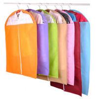 Suit Dress Coat Clothes Garment Shirt Dust Cover Travel Storage Bag Organizer UK