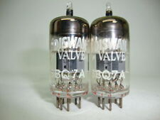 2 x 6BQ7A EDISWAN BRITISH, HIGH QUALITY NOS TUBES. MATCHED PAIR. CRYOTREATED