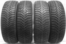 4 1956515 Michelin A4 195 65 15 Used Part Worn Tyres Mud Snow Winter x4 91 TR