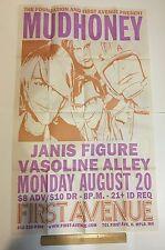 MUDHONEY Minneapolis,MN 2001 CONCERT TOUR POSTER First Ave MARK ARM/STEVE TURNER
