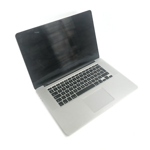 "Apple MacBook Pro A1398 15"" 2015 i7-4770HQ 2.20GHz 16GB 256GB (Hinge Cracked)"