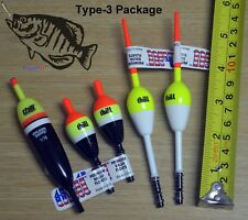 Lot thill Crappie panfish walleye fishing bobbers floats made in USA bobber