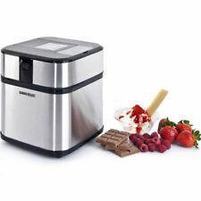 Eismaschine Edelstahl Digital mit Timer Frozen Joghurt Maschine Syntrox