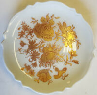 New Authentic Limoges - Signed Porcelain Hand Painted Small Plate (Made in Fr...