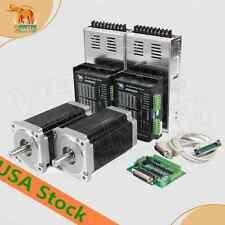 【USA FREE】 2AXIS Wantai 1Axis Nema34 Stepper Motor  1700oz-in 151mm 6A CNC plase