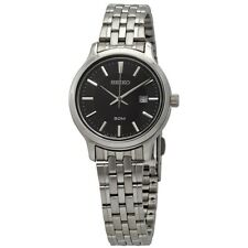 Seiko Ladies Classic Stainless Steel Watch - SUR649P1-NEW