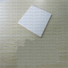 1PC High Purity 96% THIN SQUARE 127*127*2mm ALUMINA CERAMIC SUBSTRATE SHEET A67B