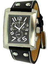 Vandenbroeck & Cie. XL Militär-Chronograph 40er Jahre Stil Herrenuhr
