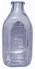 Hocking Fireking Philbe Sapphire Blue Small 4 3/4 Inch Baby Bottle