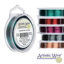 Beadalon Artístico de alambre-Elige Tu Color Y Calibre