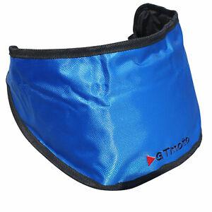 Motorcycle Motorbike Helmet Visor Bag Carrier Spare with Adjustable Strap, Belt