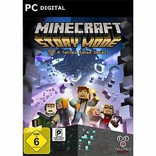 Minecraft: Story Mode Telltale Games  PC  Steam Key Download - (keine CD/DVD)