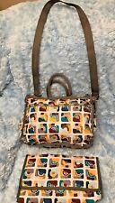 Lesportsac  Baby Bag Travel Diaper  changing pad stroller hooks  MSRP $138 EUC
