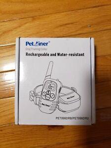 Petrainer Dog Training Collar - water resistant & Rechargeable waterproof