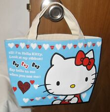 Hello Kitty Small Canvas Bag, Sanrio, NWOT, From Japan, Never Used, HTF!