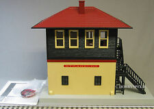 MTH RAIL KING STRASBURG PA SWITCH TOWER o gauge train control LIGHTED 30-90429