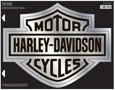 Harley-Davidson® Bar & Shield Logo Chrome X-Large Decal (19.5x15.5) D3028C