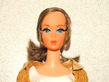 Barbie:  VINTAGE Brunette NAPE CURL TALKING BARBIE Doll w/Centered Eyes!