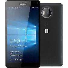 32GB-EE Lumia 950 Microsoft bloccato-Nero-Windows telefono 10
