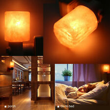 Himalayan Salt Night Light Natural Crystal Lamp Air Purifier Home Wall Deco Hot