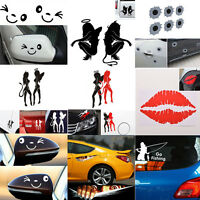 26 Styles Car Stickers Decals Car Auto Truck Window Decorations Wall Sticker №e