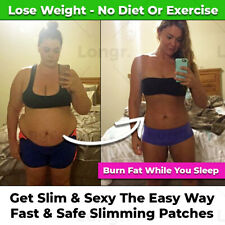 NEW SAFE MAGNETIC SLIMMING BELLY WEIGHT LOSS PATCHES DIET FAT BURNER NAVEL PATCH