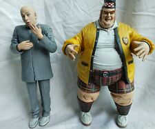 "Austin Powers Fat Bastard & Dr Evil - McFarlane Toys (9"") Talking Figures"