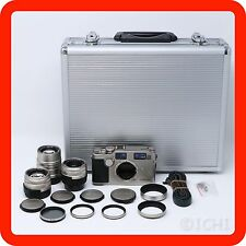 [EXC+++] CONTAX G2 w/ 28mm, 45mm, 90mm Lens, Trunk,  Speed light  [from Japan]