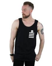 Tank Regular Size Striped Casual Shirts for Men
