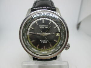 SEIKO LIMITED EDITION 1964 TOKYO OLYMPIC WORLDTIME 6217-7000 FIRST GMT MENSWATCH
