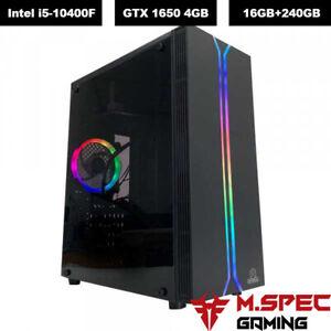 Intel Core i5 Gaming PC 16GB RAM 240GB SSD NVIDIA GTX 1650 4GB Gaming Desktop PC