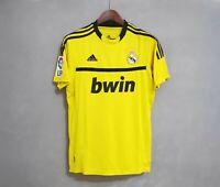 2011-12 Real Madrid Yellow Goalkeeper Retro Soccer Jersey