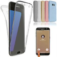 Full Carcasa TPU para Samsung Galaxy Apple Funda Protección Móvil Transparent ‼️