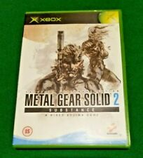 XBOX Metal Gear Solid 2 Substance    PAL