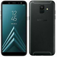 Samsung Galaxy A6 A600F/DS (Dual Sim) - Black (Unlocked) Smartphone
